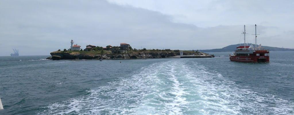 Einzigartiger Besuch der Insel Saint Anastasia im bulgarischen Schwarzen Meer