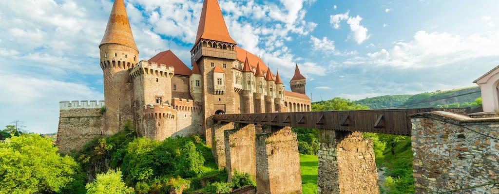 Excursão ao Castelo Corvin em Hunedoara e Alba Iulia