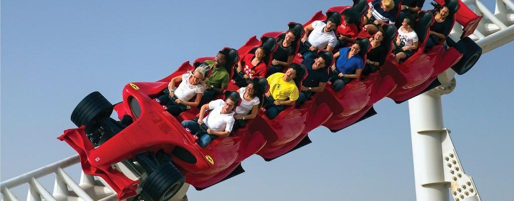 Ferrari World com transferências de Dubai