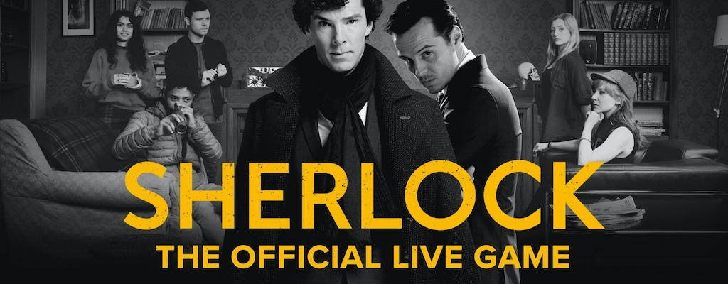 Sherlock: The Official Live Game escape room