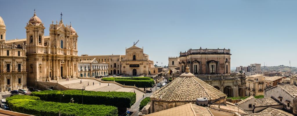 Private tour of Noto from Catania