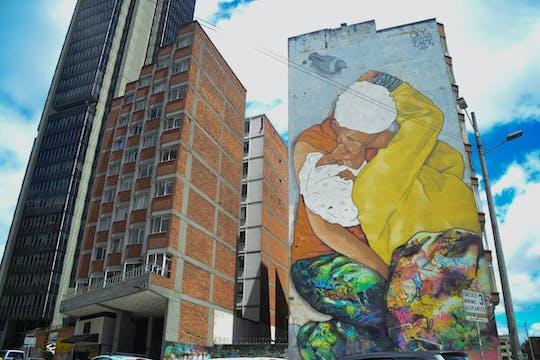 Tour de arte callejero en Bogotá