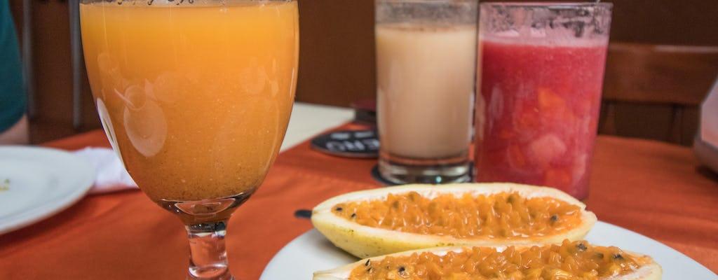 Visite gastronomique de la rue Chapinero à Bogotá
