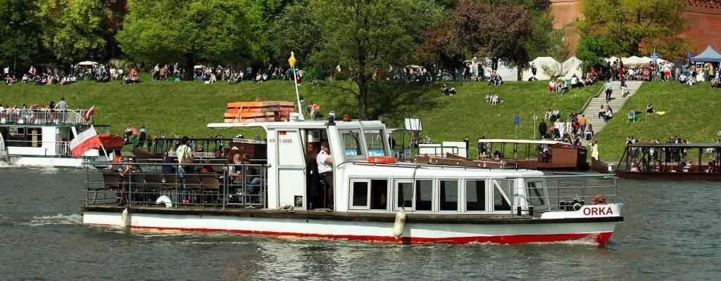 Cruzeiro de 1 hora no rio Vístula em Cracóvia