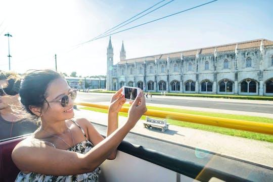 Bus touristique hop-on hop-off - ligne Belém + Oriente + Castelo + Cascais