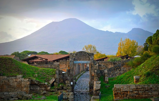 Pompeii & Mount Vesuvius from Naples