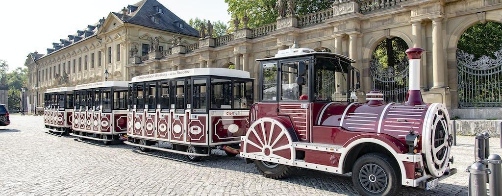 Excursão turística em Würzburg de trem turístico