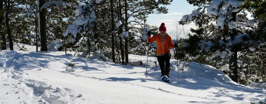 Przygoda w rakietach śnieżnych ze Sztokholmu