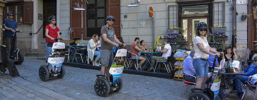 Samobalansująca wycieczka skuterem po Sztokholmie
