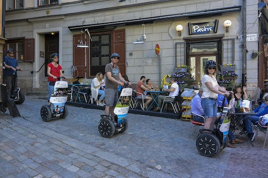 Stockholm self-balancing scooter tour
