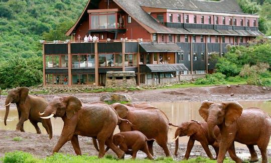 Aberdare National Park 2-daagse safari in Ark Tree Lodge