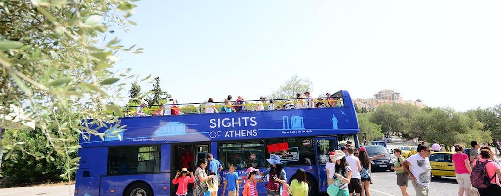 Recorrido en bus turístico por Atenas y entrada sin colas al Museo de la Acrópolis