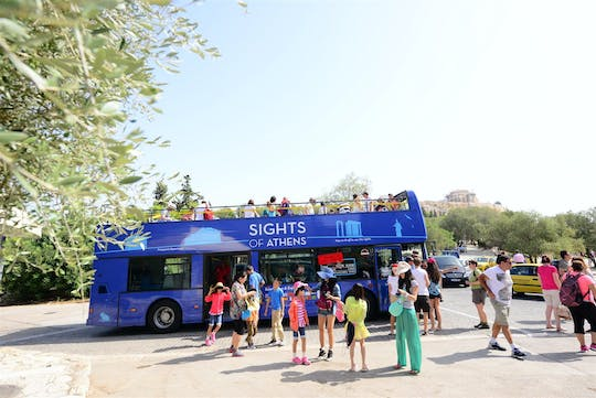 Athens hop-on hop-off bus tour and Acropolis Museum skip-the-line ticket