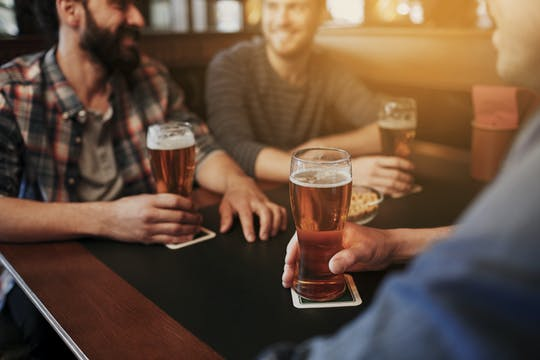Pub crawl in Tel Aviv