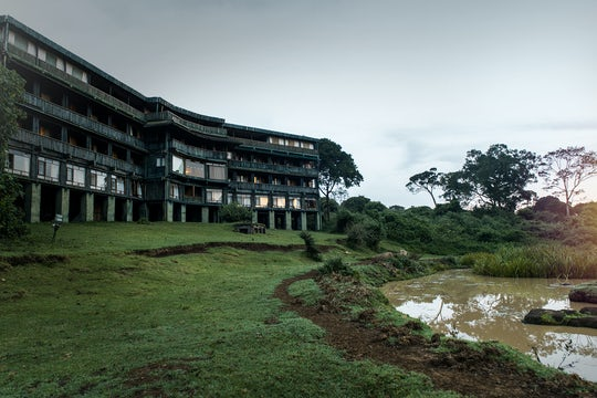 Mount Kenya National Park 2-day safari at Serena Mountain Lodge