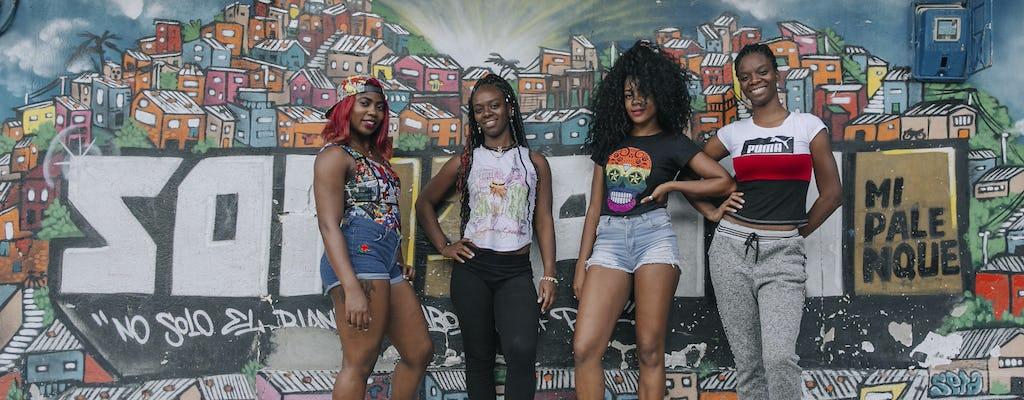 Afro tour en la Comuna 13 de Medellín