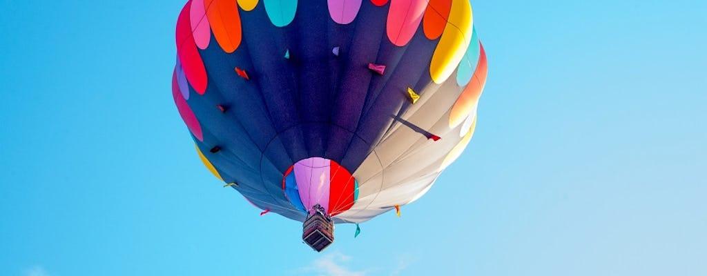 Teotihuacan pyramids hot air balloon ride