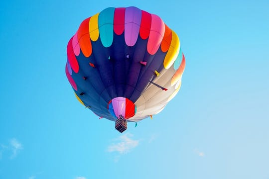 Teotihuacan piramides heteluchtballonvaart