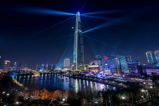 Spectacular Seoul night view tour