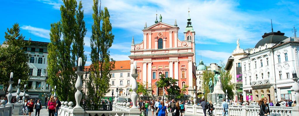 Tour por el centro histórico de la ciudad y el castillo de Ljubljana