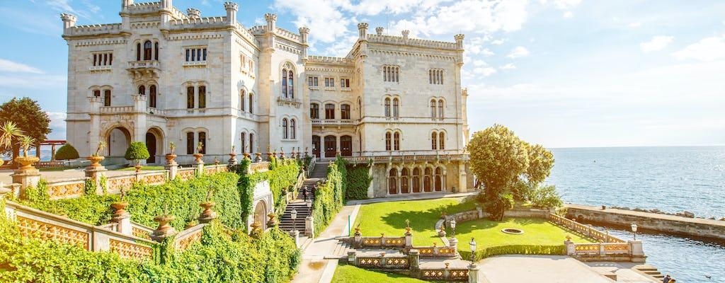 Bilety do zamku Miramare w Trieście