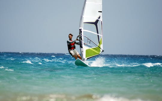 Trial windsurf course Zingst