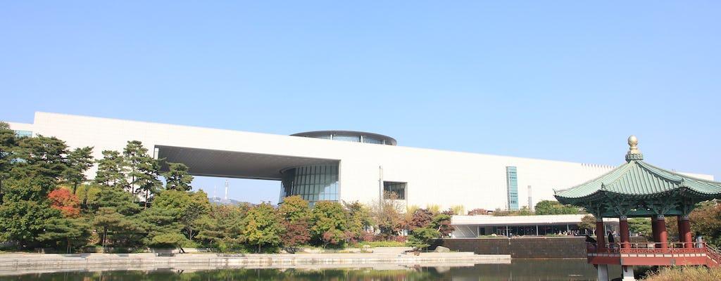Jogo da cidade de Seul dentro do Museu Nacional da Coreia