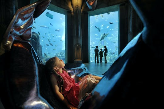 "Bilety do Atlantis Aquarium ""The Lost Chambers"""