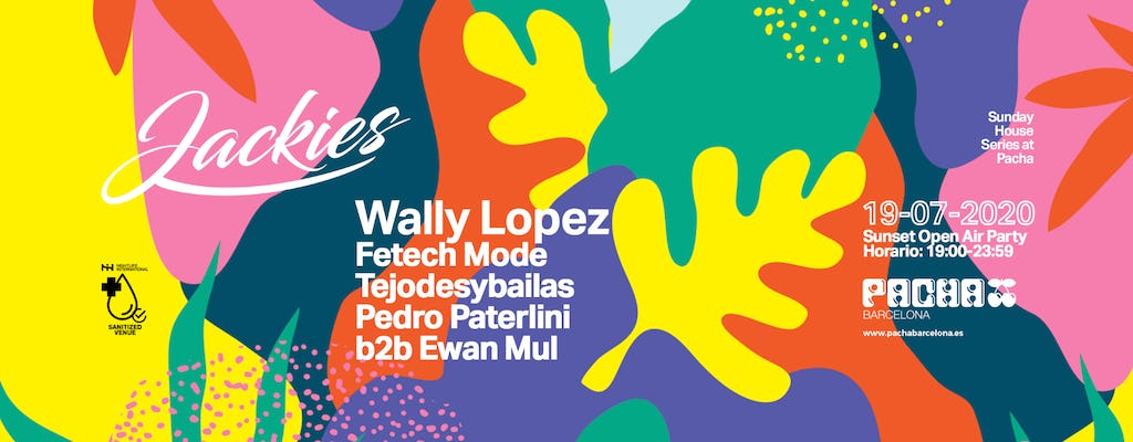 Jackies Pres: Sunday House Series al Pacha con Wally Lopez (Sunset Terrace Open Air Party)
