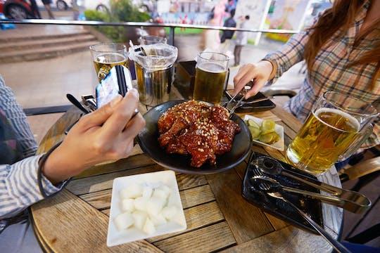 Visite nocturne de Séoul avec dîner