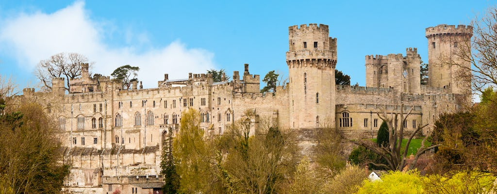 Warwick Castle, Stratford, Oxford e Cotswolds