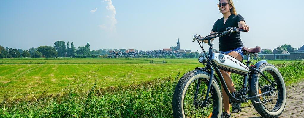 Noleggio di fatbike elettriche a Volendam per 1, 2 o 3 giorni