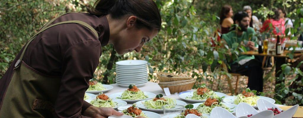 Experiencia gastronómica privada en un parque natural a las afueras de Girona