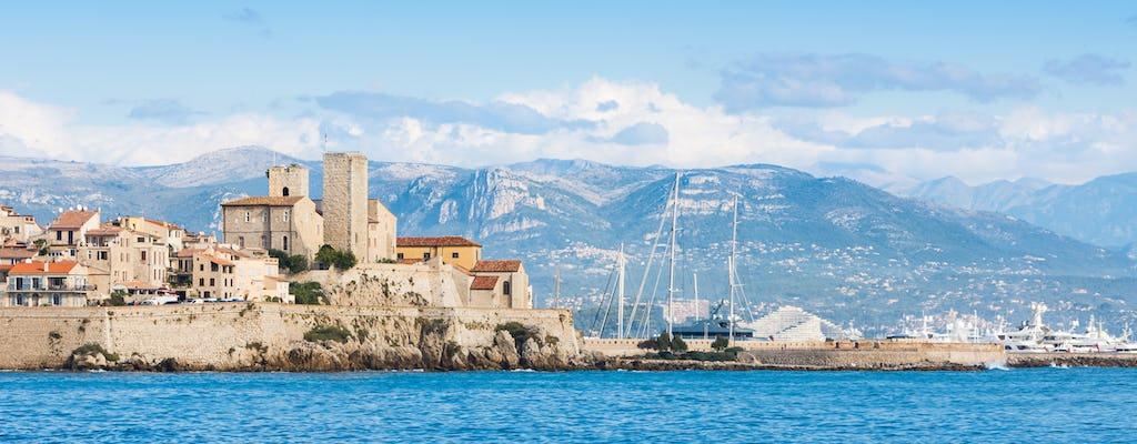 Tour privato di un'intera giornata con panorama sulla Riviera