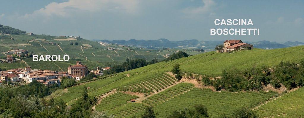 Tasting of local wines and Barolo at Cascina Boschetti