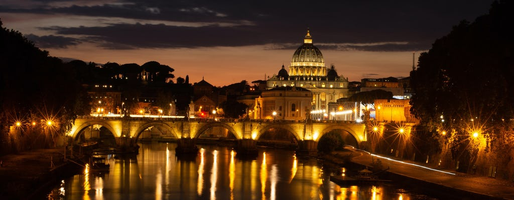 Rome by night private photo tour