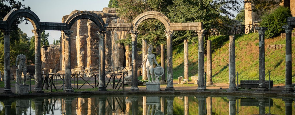 Villa Adriana and Villa d'Este private photo tour