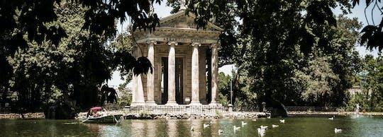 Tour fotografico privato di Villa Borghese e zone eleganti di Roma