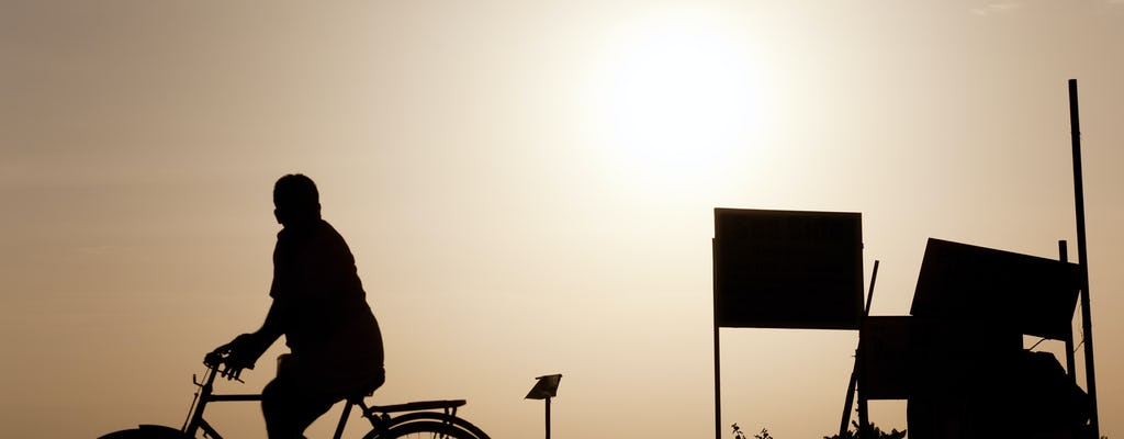 Fietstocht door Delhi