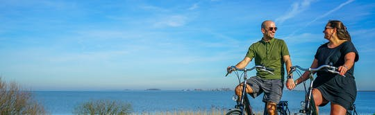 Bike rental in Volendam for 1, 2 or 3 days