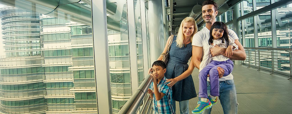 Petronas Twin Towers Skybridge admission ticket with one way transfer