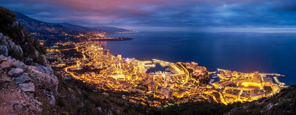 Tour privato di Monaco e Monte-Carlo di notte