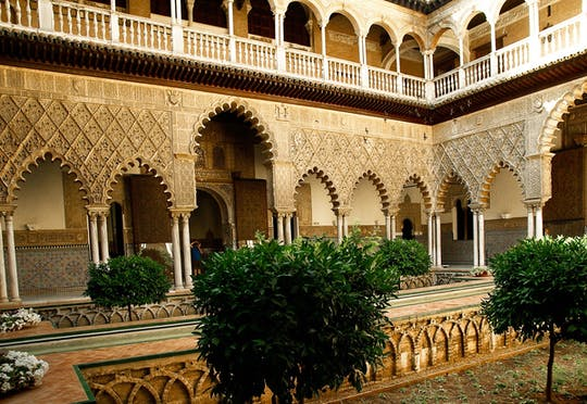 Private tour of the Alcázar of Seville