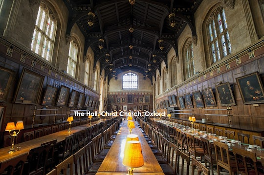 Private Harry Potter and Christ Church tour