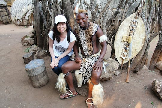 Lesedi cultural village half-day tour from Johannesburg