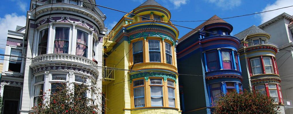 Gra miejska o kulturze hipisów w San Francisco i prywatna wycieczka