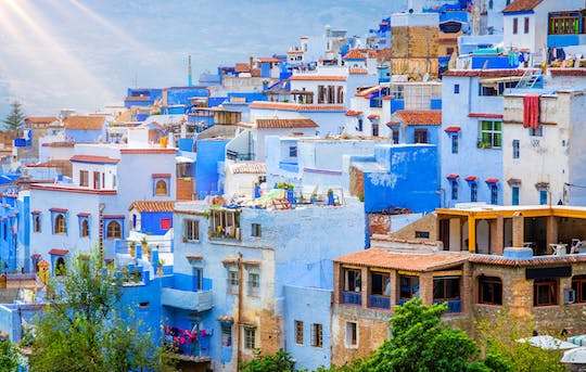 Chefchaouen Instagram tour from Fez
