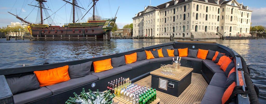 Luksusowy rejs po kanałach z Domu Anny Frank