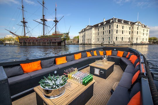 Luxury canal cruise from the Anne Frank House