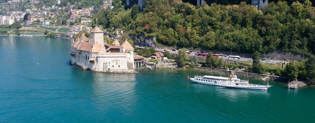 Croisière Riviera sur le lac Léman au départ de Vevey
